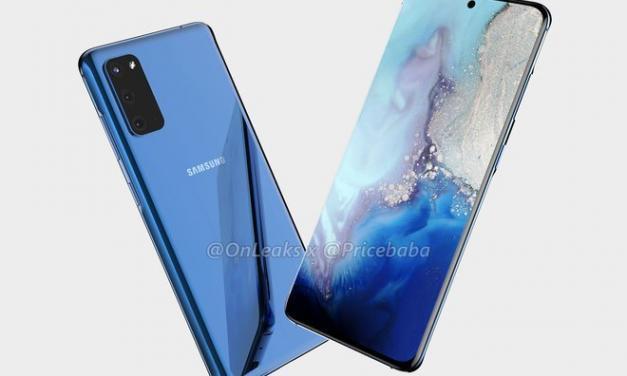 De nieuwe Samsung Galaxy S11 komt eraan