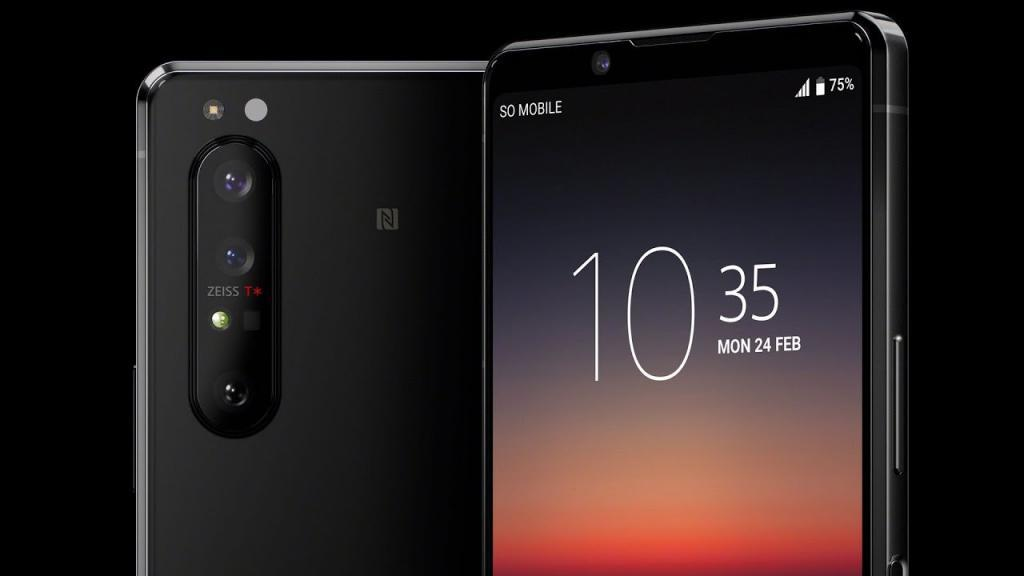 Sony xperia 1 II met sensor 1/1.7''