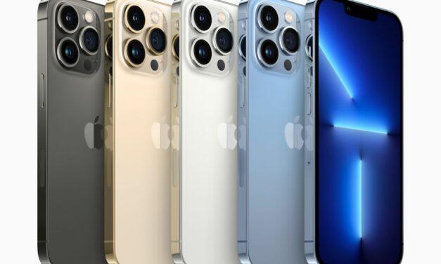 Apple iPhone 13 Pro leverbaar vanaf november